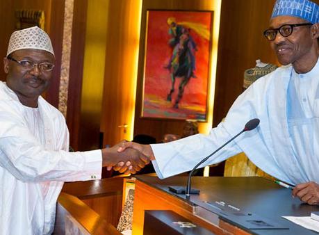 President Buhari Reappoints Prof Mahmood Yakubu As INEC Chairman