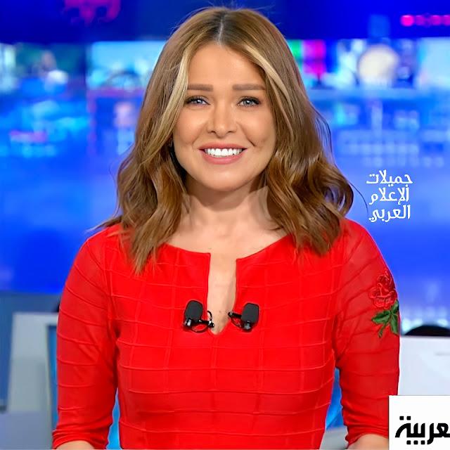 الإعلامية الفلسطينية الجميلة ميسون عزام