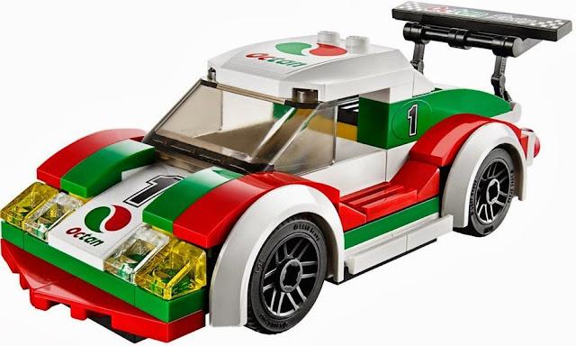 Mô hình chiếc xe đua siêu hạng trong bộ Lego 60053 Race Car