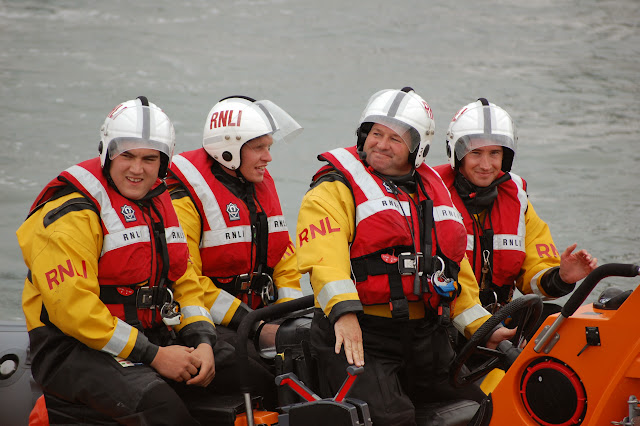 Our smiley Paul during Poole Lifeboat Station's Open Day.