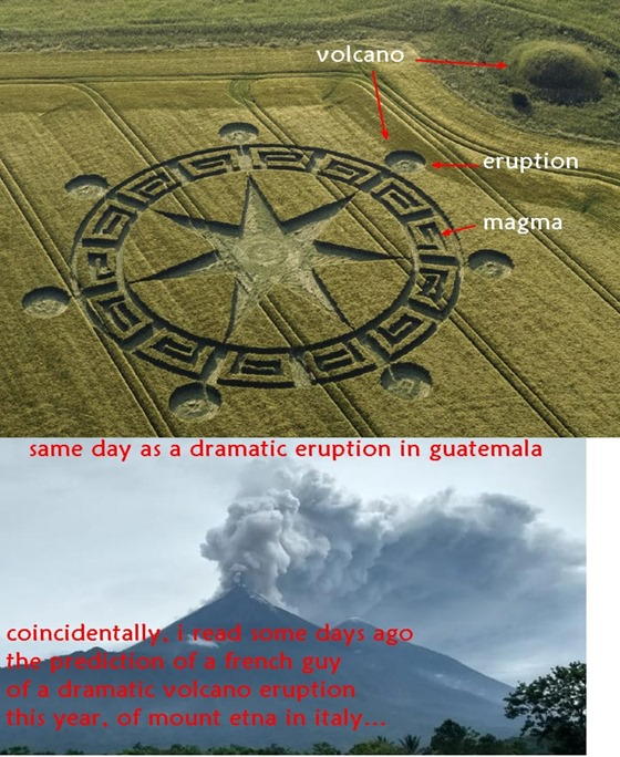 Símbolo do Círculo de Colheita dos Sete Anjos do Apocalipse na Terra 04