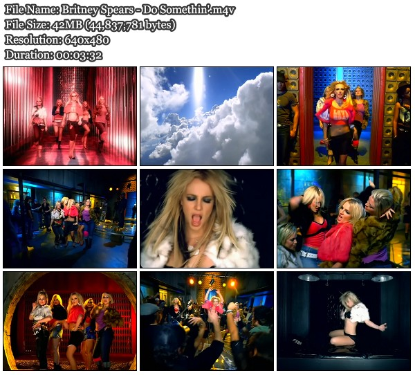 Britney Spears Do Somethin HD Music Video Download