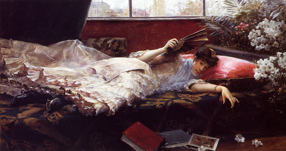 Julius LeBlanc Stewart - An Idle Afternoon