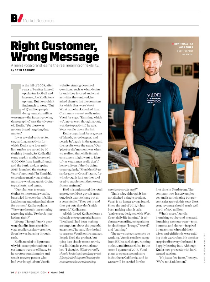 Entrepreneur Magazine- screenshot