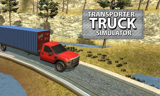 Transporter Truck Simulator - náhled
