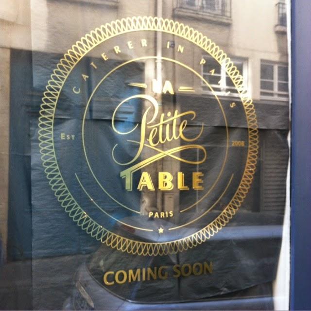 La Petite Table rue Saintonge