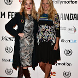 OIC - ENTSIMAGES.COM - Andrea Lowe and Christine Bottomley at the Raindance Opening Night Gala at the Vue in Leicester Square, London on the 23rd September 2015. Photo Mobis Photos/OIC 0203 174 1069