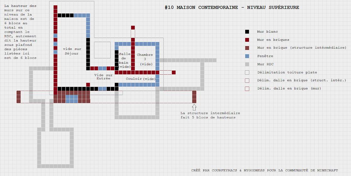 [Galerie] Plans de maisons pour Minecraft [Edit: Plans ...