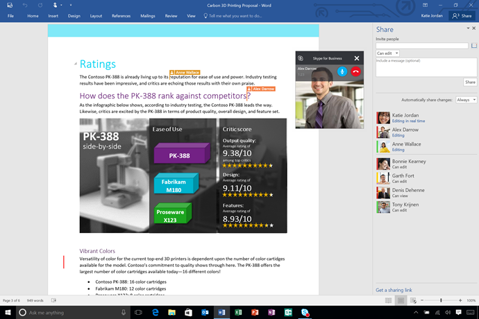 Microsoft Office 2016 - Team collaboration made easy