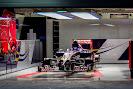 Toro Rosso garage STR9 F1 car