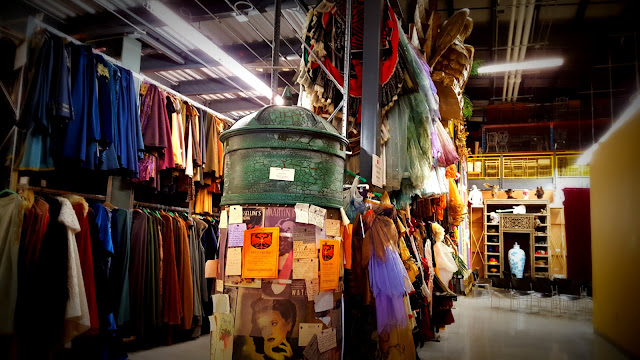 Entering the Stratford Festival Costume Warehouse. From Visiting Stratford, Ontario? The first thing you need to do...