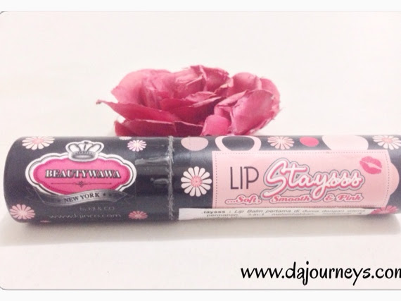 [Review] Kji & Co - Lip Staysss Lip Balm #Baby Pink