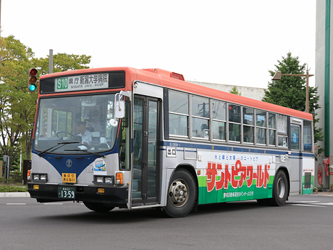 新潟交通 1359 市役所前にて