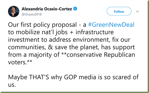 aoc green jobs to save the planet