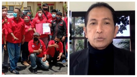 Tak Terima Megawati Diberitakan Sakit Parah, BBHAR Laporkan Hersubeno Arif ke Polisi