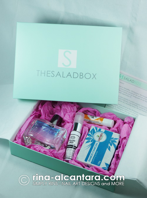 The Salad Box - What's Inside