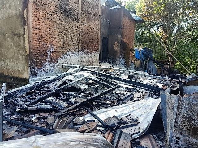 Bensin Dekat Kompor Kemungkinan Penyebab Kebakaran di Desa Tegal Rejo Kotabaru