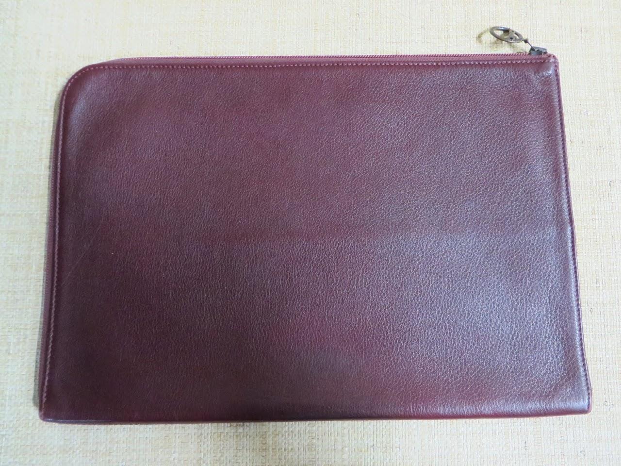 Longchamp Horchow Collection Portfolio Case