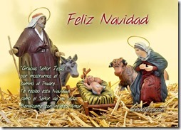 feliz navidad cristiana
