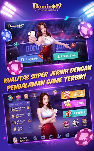 Domino QiuQiu · 99 :  Awesome Online Card Game 2.14.0.0 screenshots 1