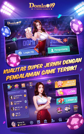 Domino QiuQiu u00b7 99 :  Awesome Online Card Game  screenshots 1