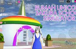 ID Rumah Unicorn Di Sakura School Simulator Dapatkan Disini