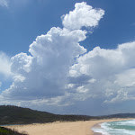 Clouds build above Bournda Beach (106601)