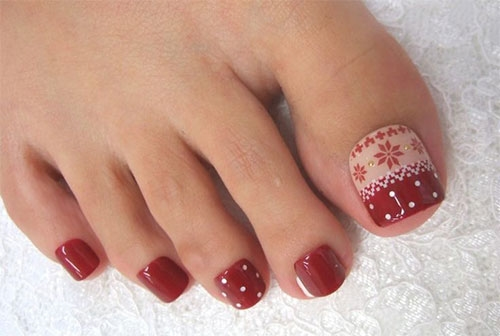 Beautiful toe nail art designs ideas 2016 fashionte beautiful toe nail art designs ideas 2016 prinsesfo Images