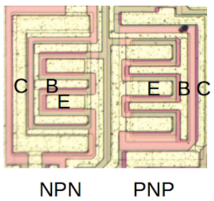 High-current NPN and PNP transistors drive the output of the TL084 op amp