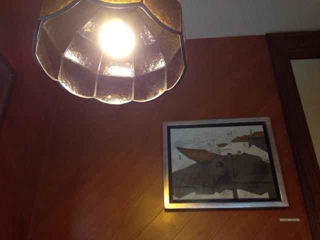 キャラウェイ 店内照明