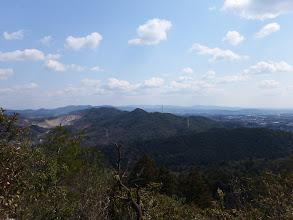 岩の上からの展望(白山方面)