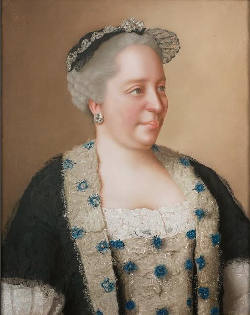 Jean-Étienne Liotard - Maria-Theresia van Oostenrijk