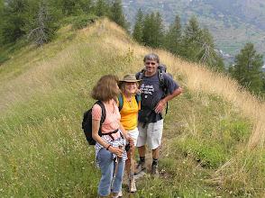 Photo: Ascension de l'aiguille d'Orcières, le sentier sur la crête