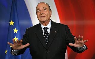 Ο Πρώην Πρόεδρος της Γαλλικής Δημοκρατίας Ζάκ Σιράκ,Jacques Chirac.