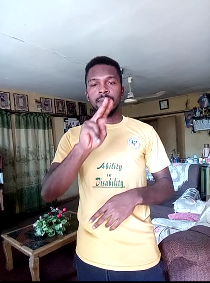 Def and Dumb student takes part in unical anthem challenge