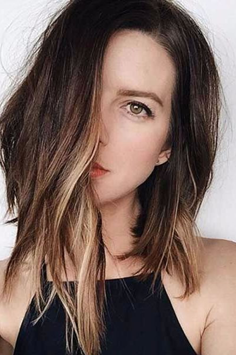 Asymmetrical Long Bob Hairstyles 2019 Are At The Forefront Of Trendy