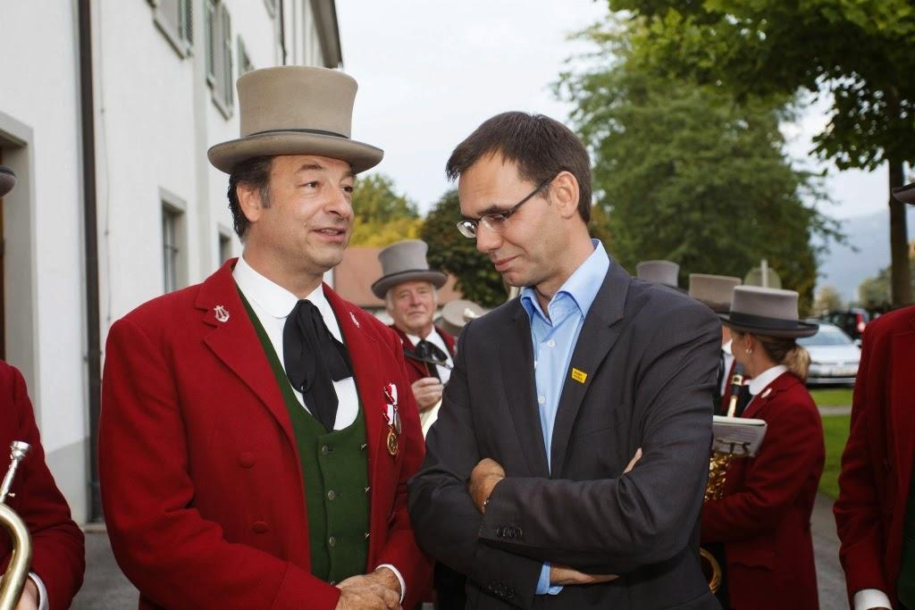 Ständchen für Markus Wallner am 11.09.2014
