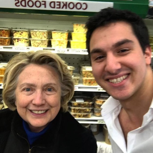 hillary goes shopping