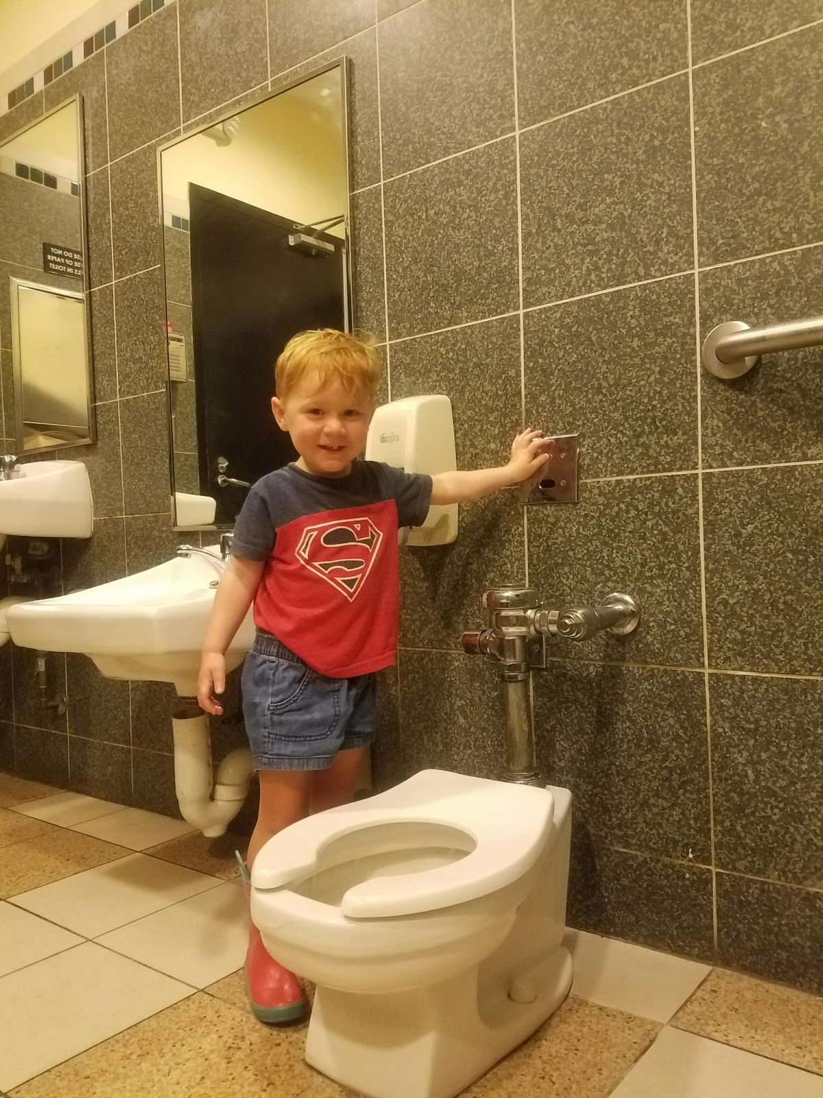 The Rotman Family: Potty Training In Process