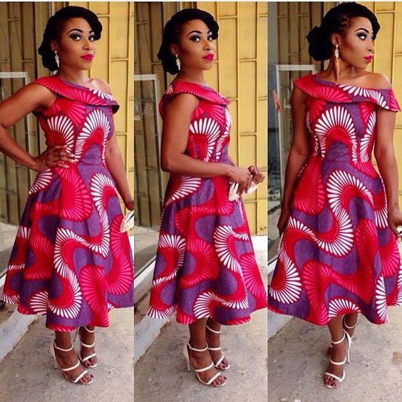 Latest Nigerian Women Clothing Style 2017 Fashion Qe