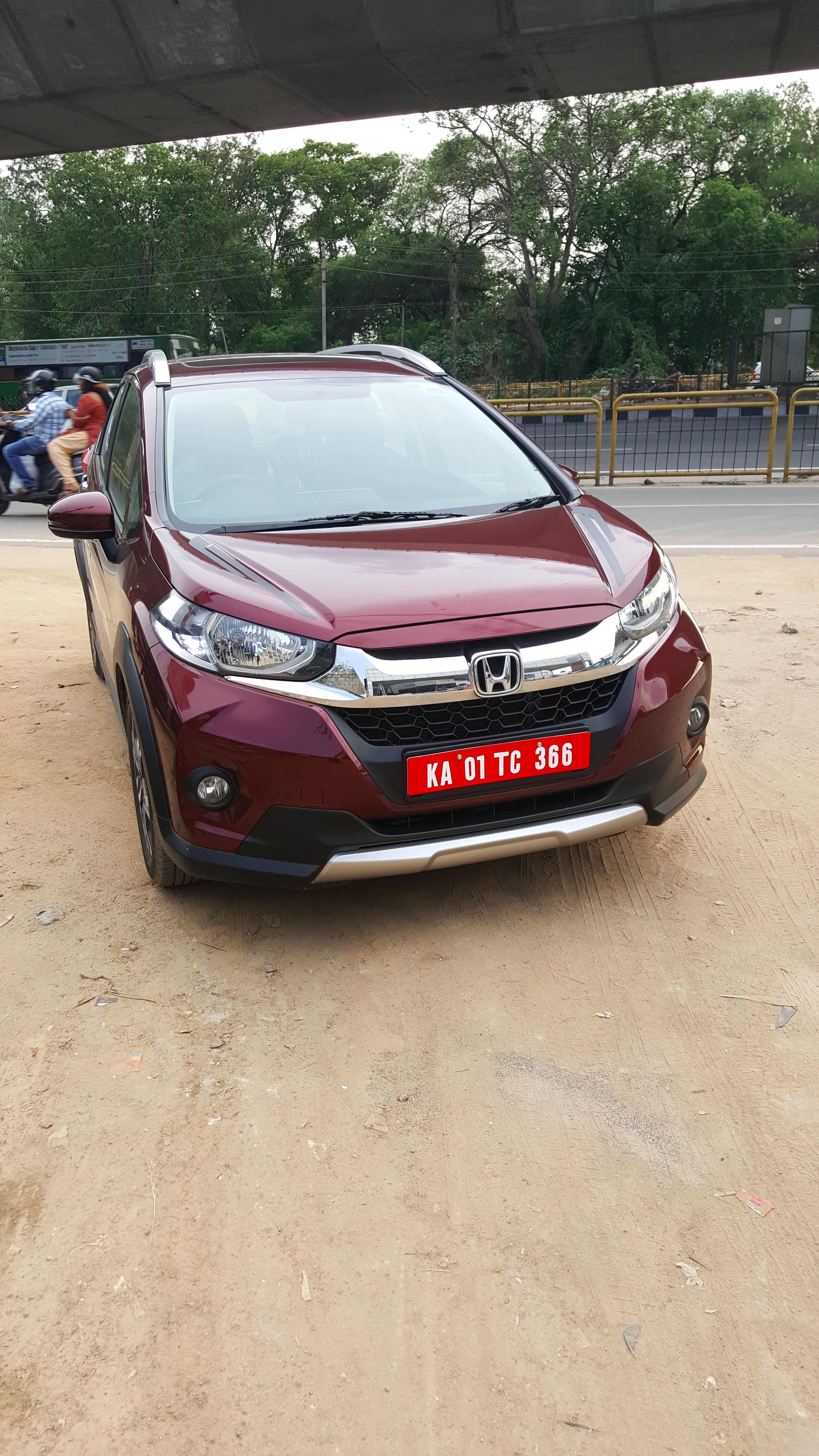Honda Wrv First Impressions And Drive Review The Bangalore Blog