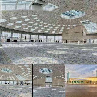 Universitas Tabuk Arab Saudi resmikan mesjid tanpa tiang tengah