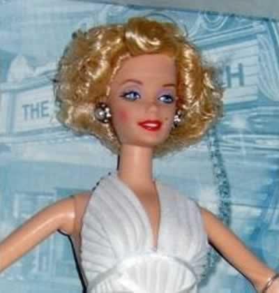 """Barbie Marilyn Monroe en """"La tentación vive arriba"""""""