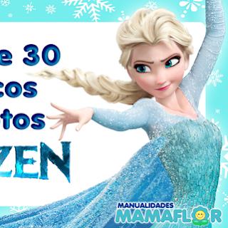 100 Marcos de Fotos de FROZEN, Elsa, Anna: Lindos diseños