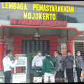 BPBD Kabupaten Mojokerto Berikan Bantuan APD ke Lapas