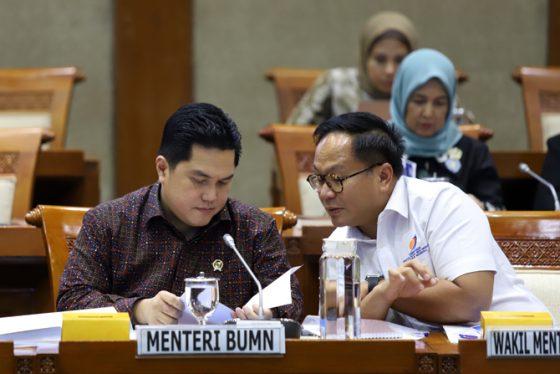 Erick Ungkap Beban Utama Penyebab Keuangan Garuda Indonesia Terpuruk