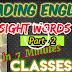 READING ENGLISH Sight Words-500 (Part -1) For Classes 1-8.  Thanks To Kalvi vassal R. MOHAN TEACHER..