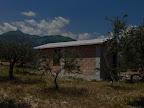 Das Studio im Rohbau...
