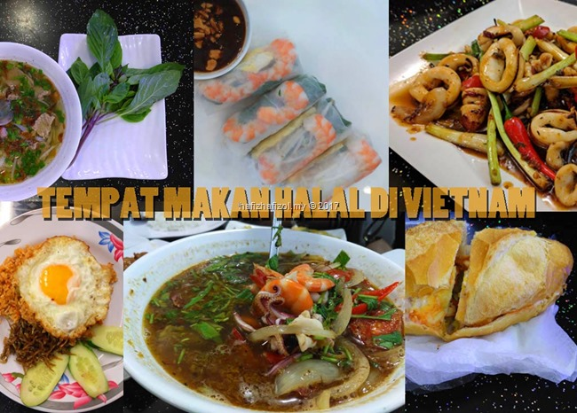 tempat makan halal di vietnam