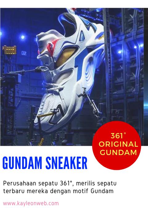 Sepatu Sneaker Gundam